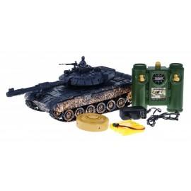 Tankas T-90 kamufležinis,valdomas RC