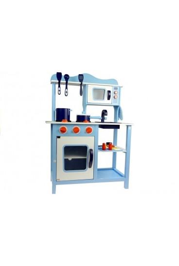 Medinė virtuvė su aksesuarais
