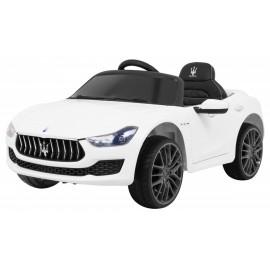 Maserati Ghibli 12V baltas