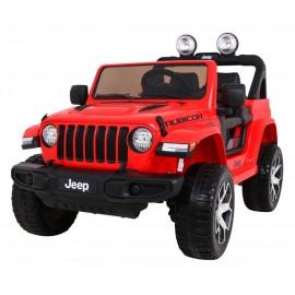Jeep Wrangler Rubicon 4x4 raudonas