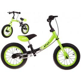 Boomerang balansinis dviratukas žalias
