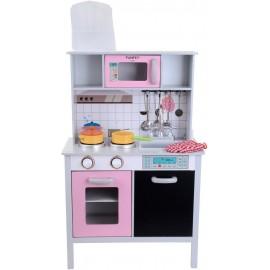 Medinė virtuvė  funfit su aksesuarais